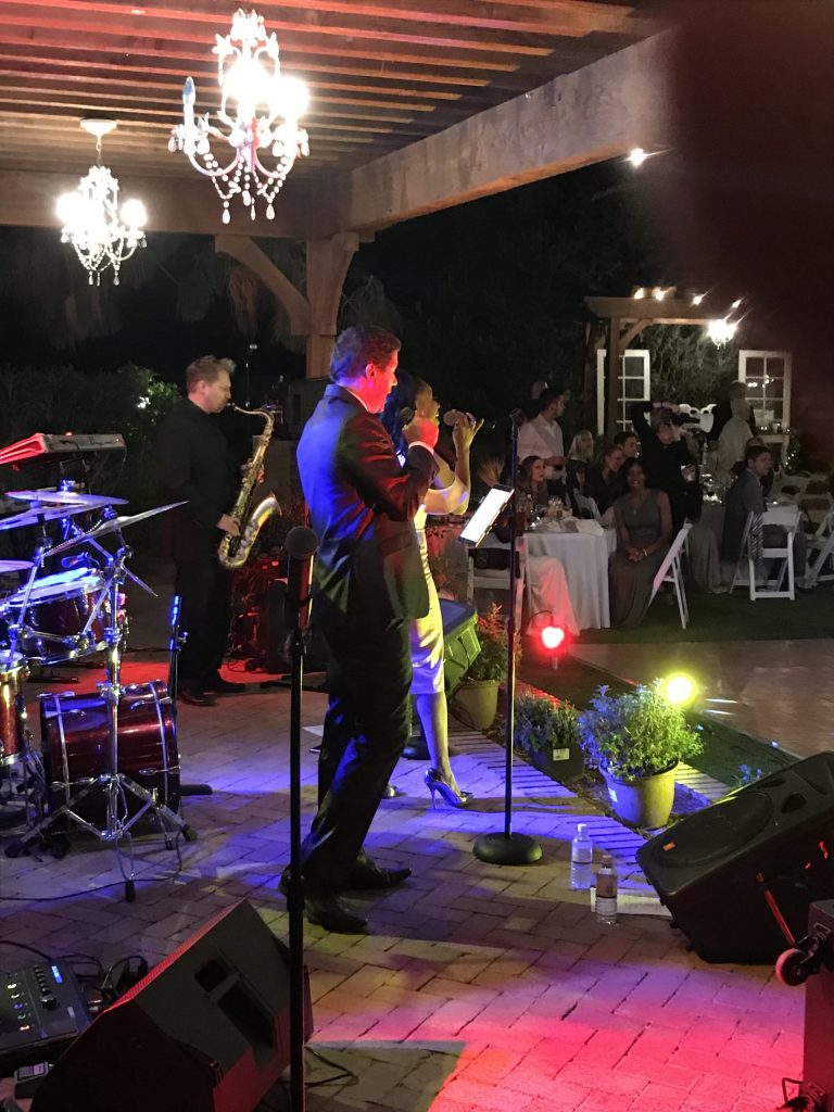 Live band in action
